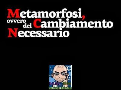 """FINALMENTE """" METAMORFOSI ...!! """" ~ IL VIAGGIO DEL VIANDANTE"""