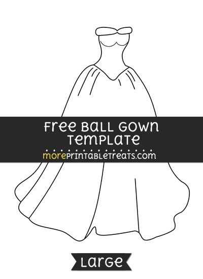 Ball Gown Template