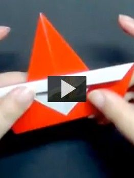 Papa Noel Origami Manualidades Con Ninos Navidad Pinterest - Origami-papa-noel