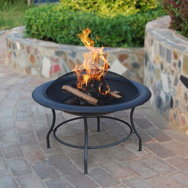 Small Portable Fire Pits : Small garden portable fire pit pits