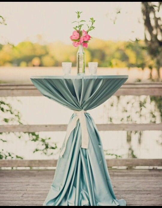 Tail Table For Wedding