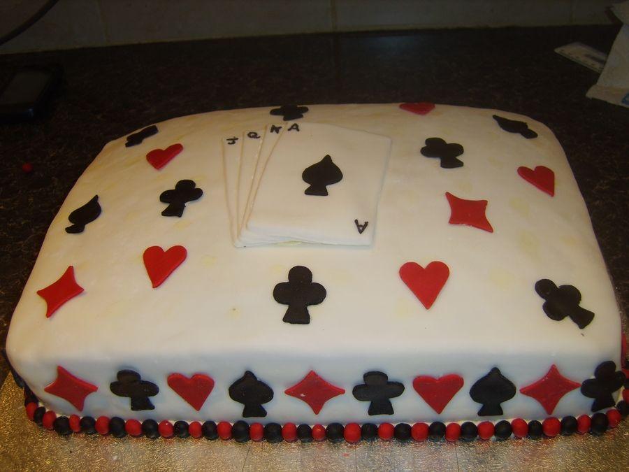 Bridge Card Cake Cakes Birthday Cake Cake Casino Cakes