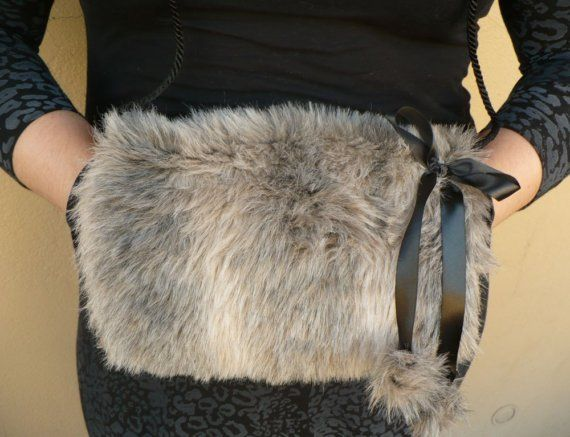 013ac9a64 Caroler's Delight Muff with Purse Pocket in 2019 | Deer hide ideas ...
