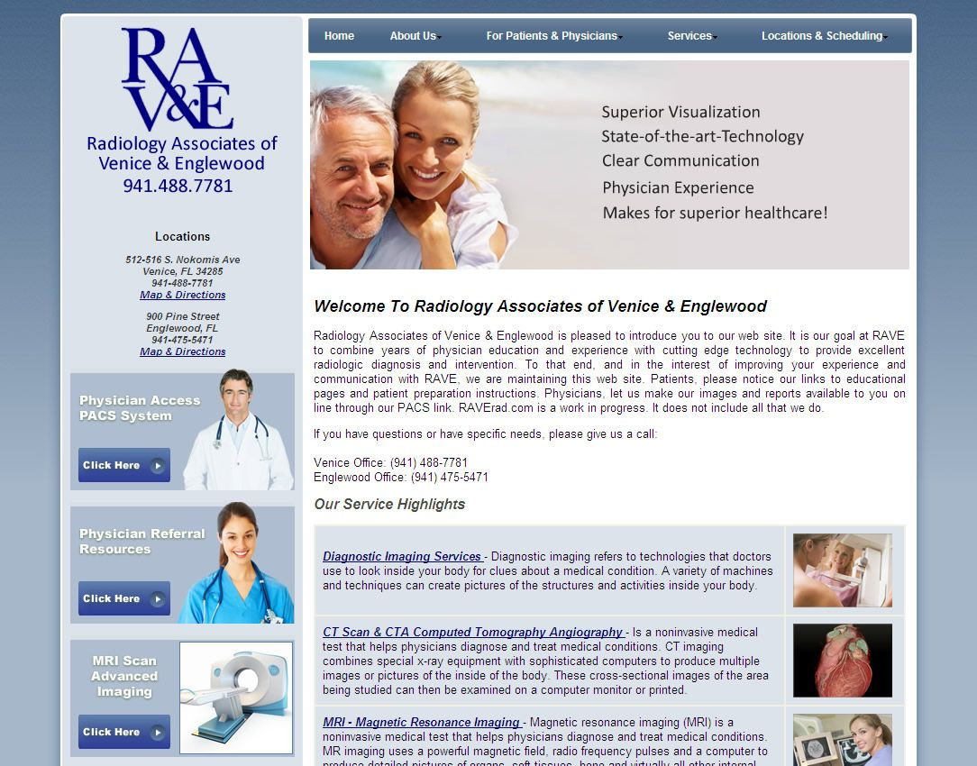Http Www Raverad Com Radiology Associates Of Venice Englewood Is Pleased To Introduce You To Our We Diagnostic Imaging Radiology Imaging Health Screening