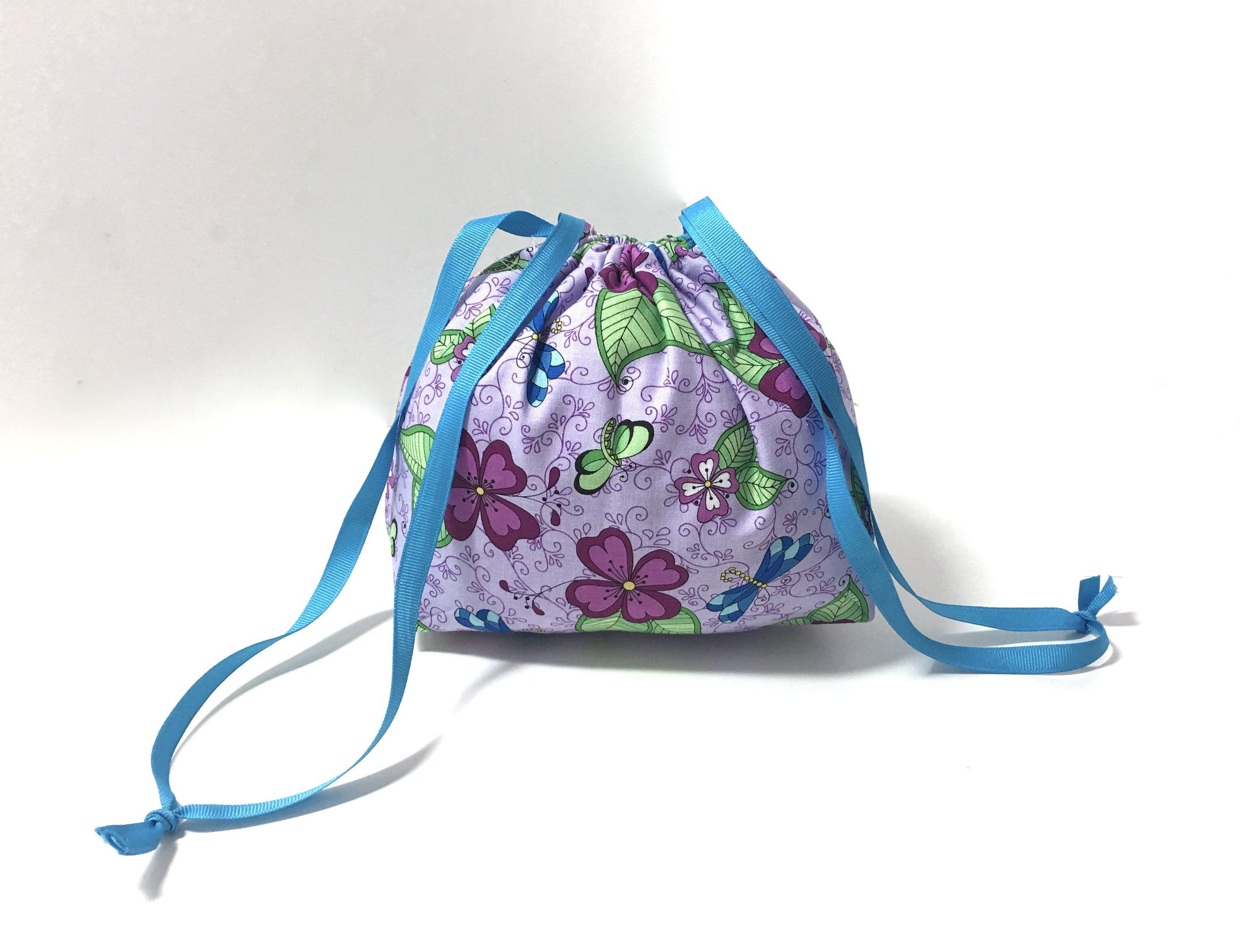 Dec 20 How to Sew a Super Easy Drawstring Bag with Flat Bottom FREE ...