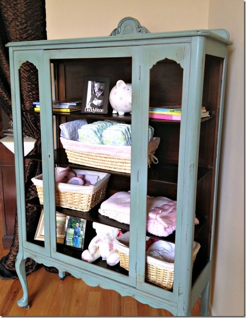 Alternative uses for an antique china hutch   Simply Reinvented ...