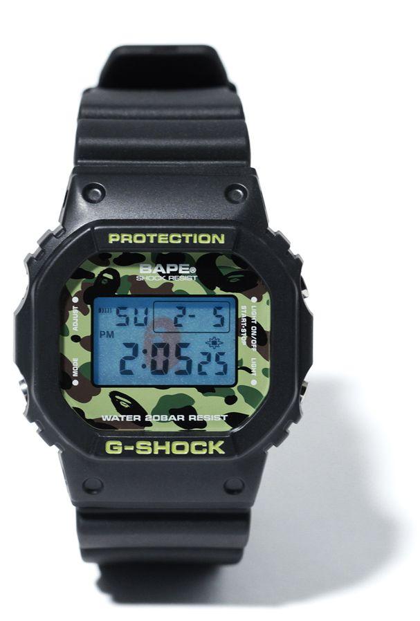 3c6daf3eeb1 Bape DW-5600 1st Camo por G-Shock