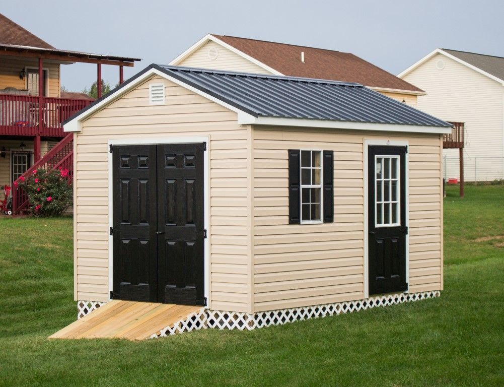 10x12 Storage Shed Portable Storage Building Byler Barns In 2020 Outside Storage Shed Plastic Storage Sheds Shed Storage