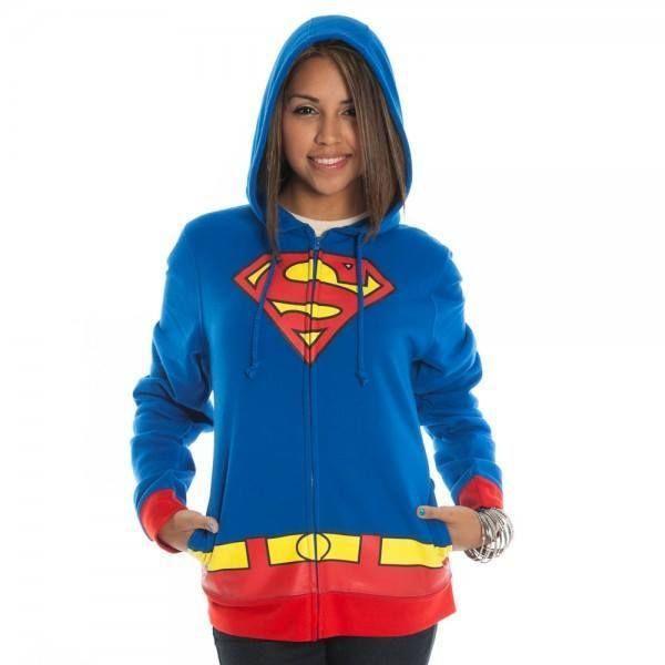 Superman Hoodie Tween Costume