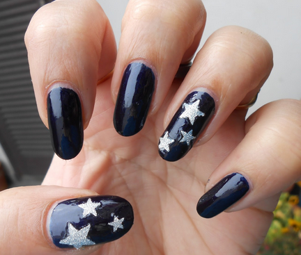 Amazing Nails With Stars Funny Hy Life