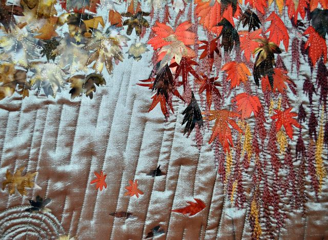 Japanese Haiku Quilt Tears of Autumn - Barbara Richards - Picasa Web Album
