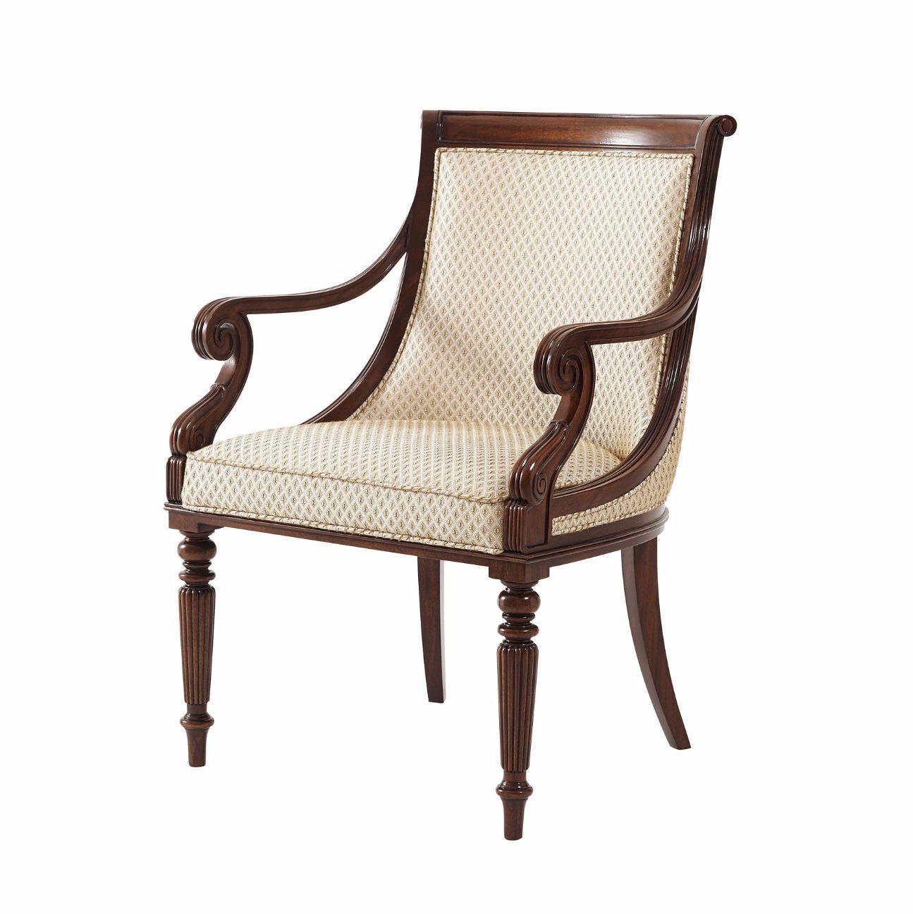 Regency Mahogany Dining Armchair Dining Chairs Dining Furniture Makeover Rustic Dining Furniture