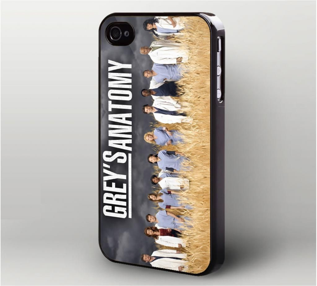 Grey\'s Anatomy iPhone 4 Case, iPhone 4s Case | Movie | Pinterest ...