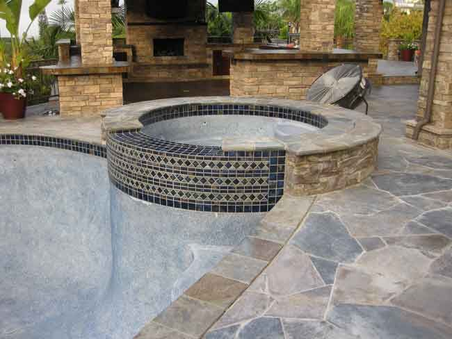 Stone Pool Tiles Google Search With Images Pool