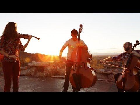 Fix You / Clocks - Coldplay (violin/cello/bass mashup
