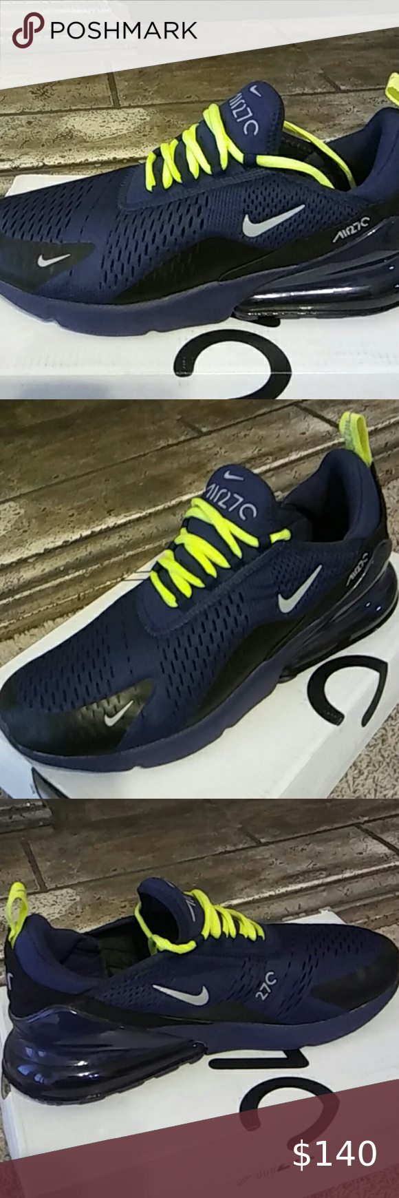 Air Max 270 Seattle Seahawks color blue