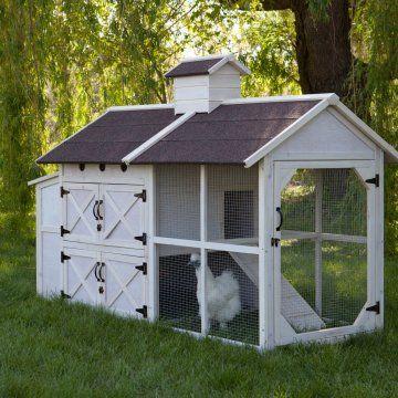 boomer george cottage chicken coop chicken coops at hayneedle rh pinterest com river cottage chicken coop cottage style chicken coop plans