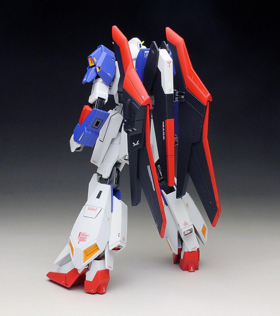 Work Review P Bandai Hguc 1 144 Zeta Gundam Wave Shooter Painted Build Gunjap Zeta Gundam Gundam Mobile Suit Zeta Gundam