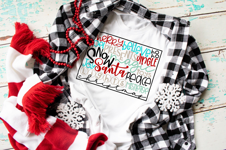weihnachtshemd weihnachtswörter weihnachtsfesthemd