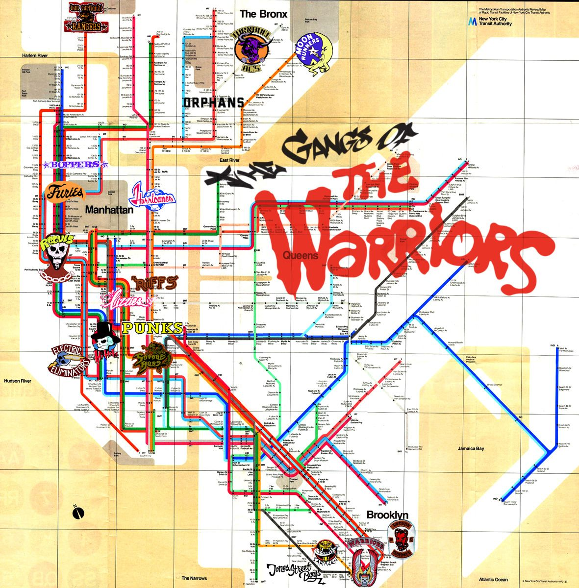 Warriors Subway Map.I Am New Y Shua Rooms In 2019 Warrior Movie Cult Movies Movie