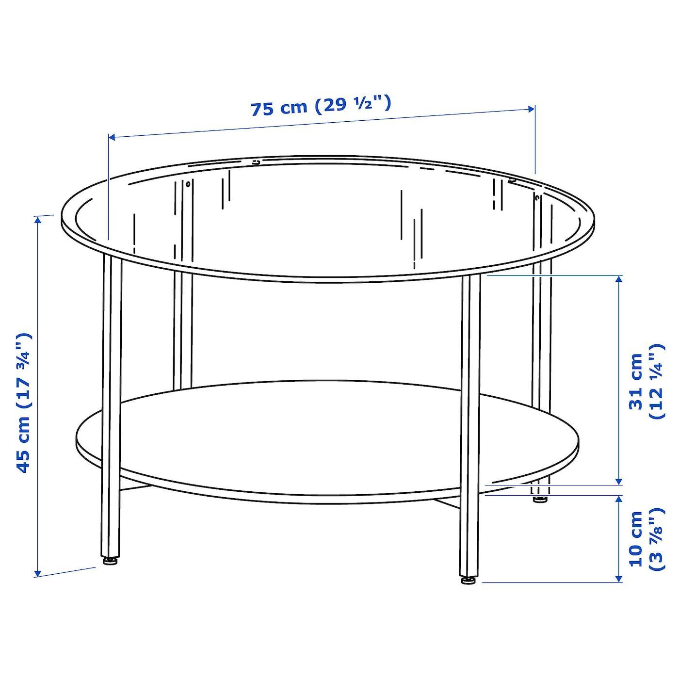 Vittsjo Coffee Table Black Brown Glass 291 2 75 Cm Ikea Coffee Table Glass Coffee Table Ikea [ 1400 x 1400 Pixel ]