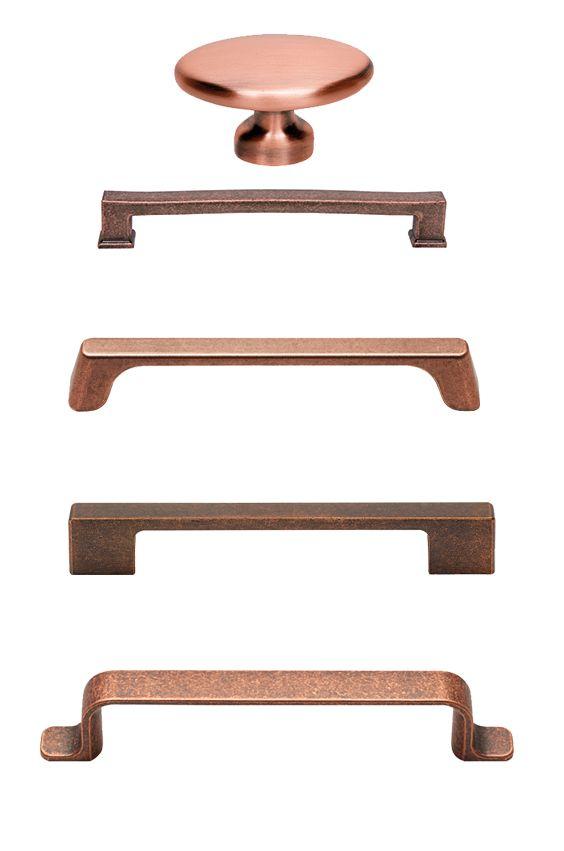 Griffe in Kupfer für die Küche | Kupfer Küche | Pinterest | Die ...