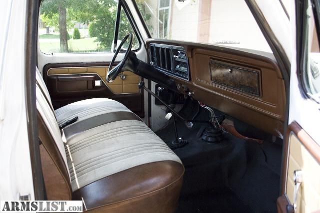1975 F150 interior | ARMSLIST - For Sale: 1978 FORD F150 RANGER 4X4