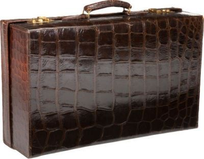 2c2f2be2c277 Vintage Crocodile Suitcase