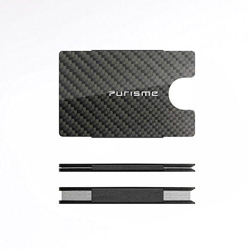 Purisme carbon credit and business card case money clip purisme carbon credit and business card case colourmoves