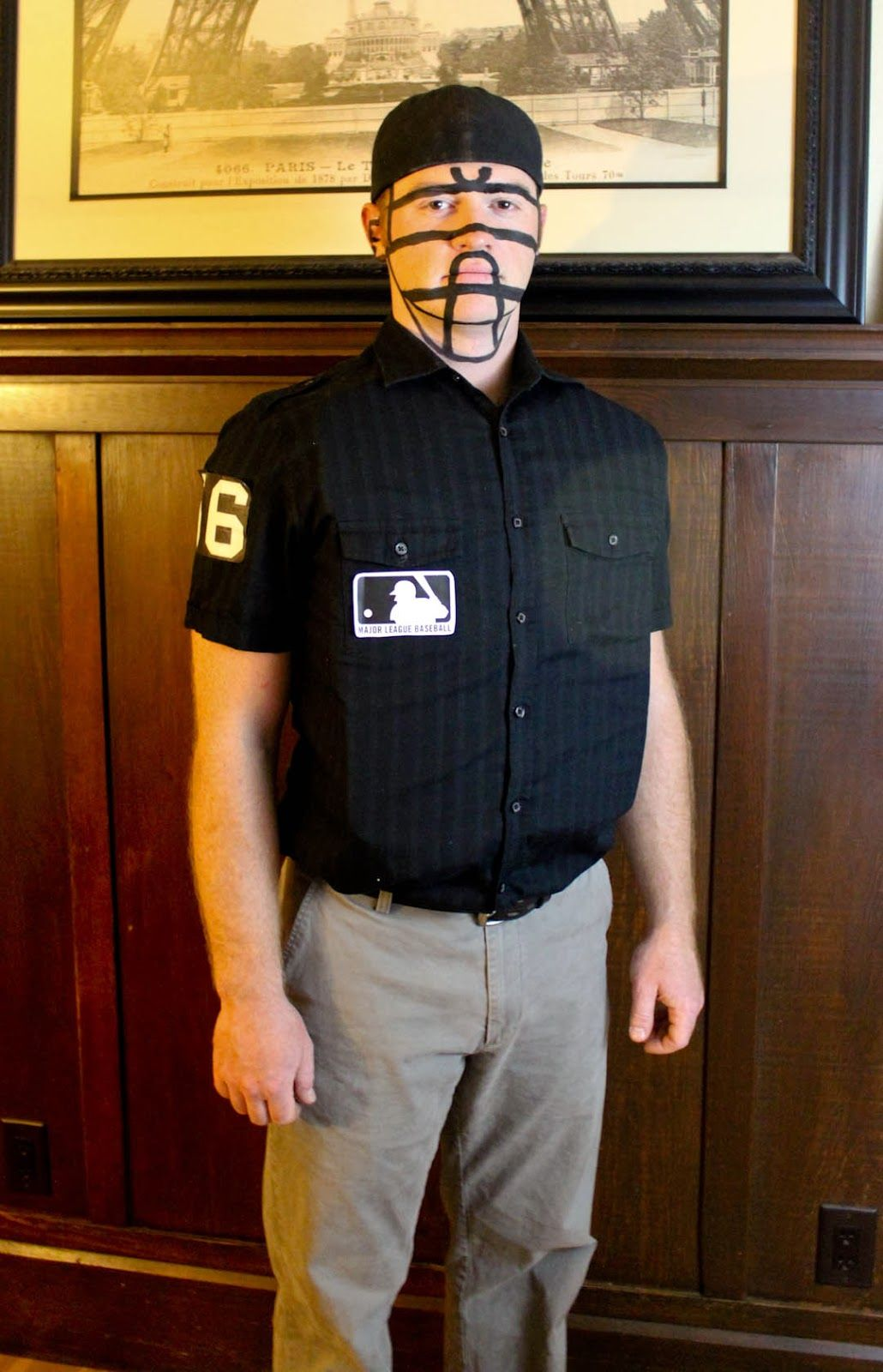 From Dahlias to Doxies DIY Pregnant Baseball and Umpire Costumes & From Dahlias to Doxies: DIY Pregnant Baseball and Umpire Costumes ...