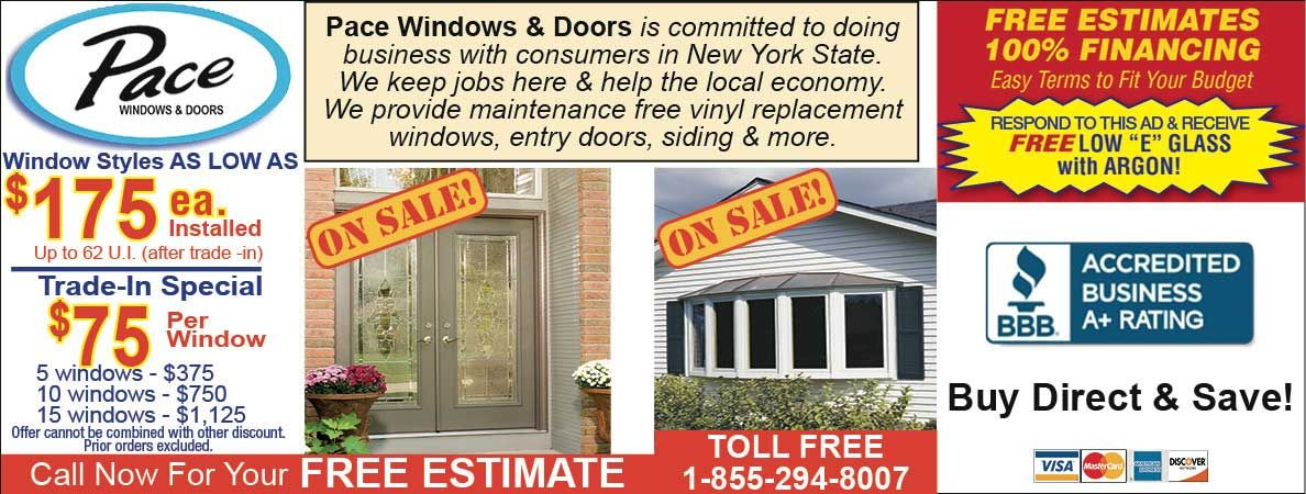 Pace Windows And Doors Will Help You Install Your Save On Low E Gl Our Services Now With Spring