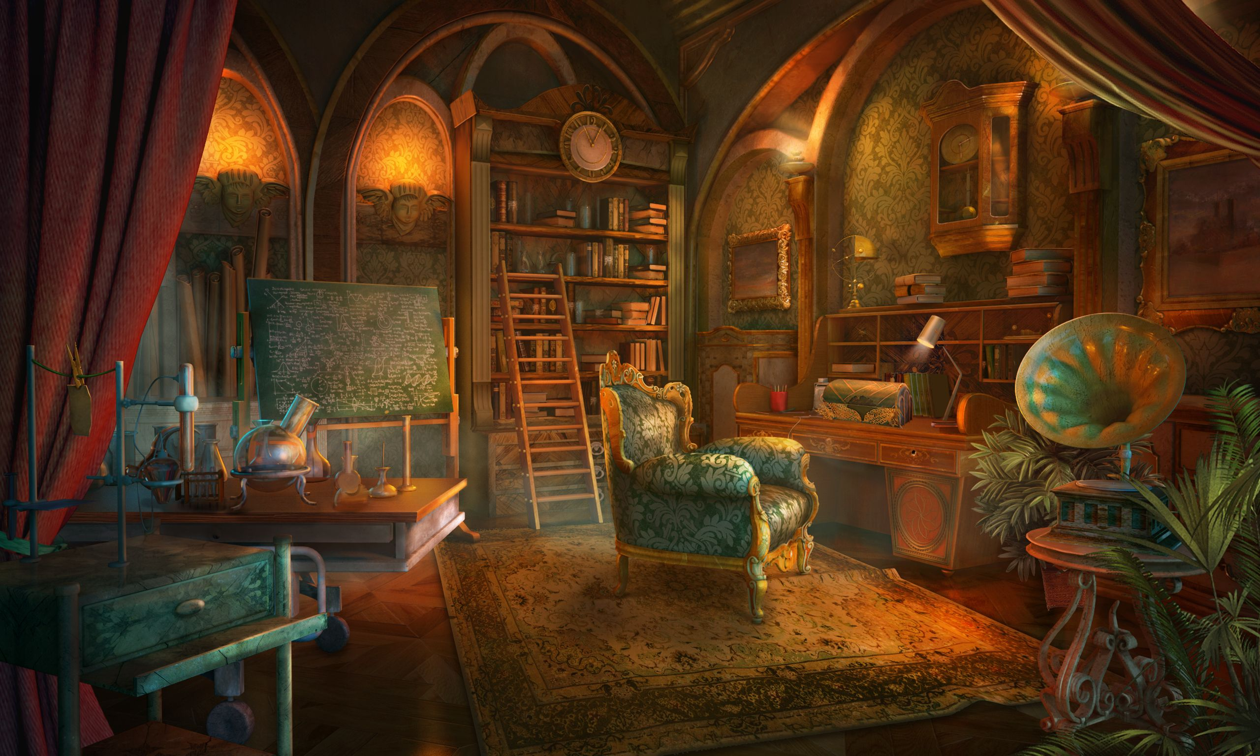 Pin On Science In Games By Mhg The top fantasy rooms