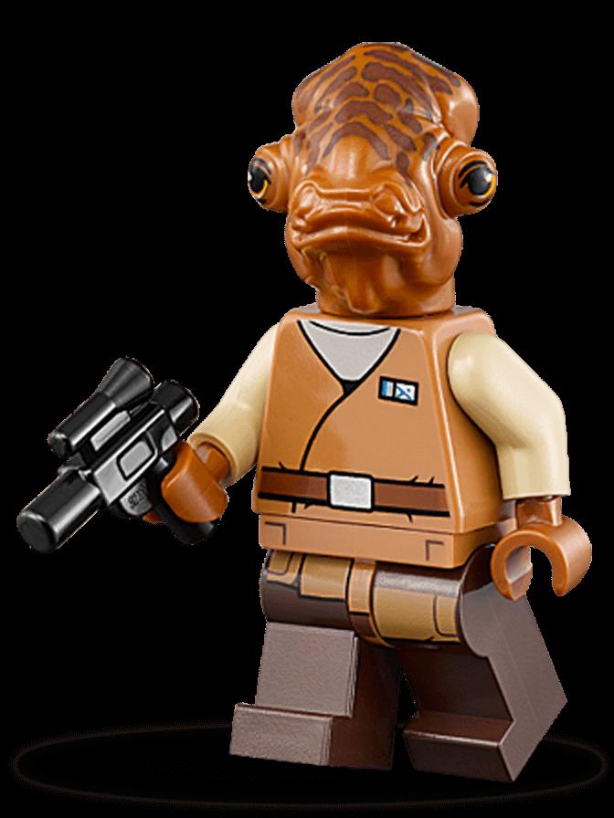 Admiral Ackbar Personajes Star Wars Lego Com Lego Star Wars Lego Star Wars Sets Lego Star