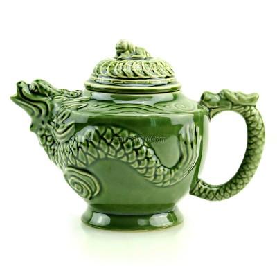 Green Porcelain Chinese Dragon Teapot In 2020 Tea Pots Tea Best Matcha Tea