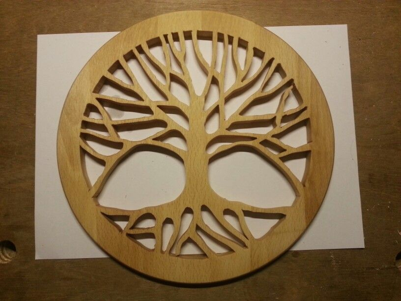Scroll saw Tree of life | Woodcrafting-scroll saw projects | Pinterest | Dremel, Woodworking and CNC