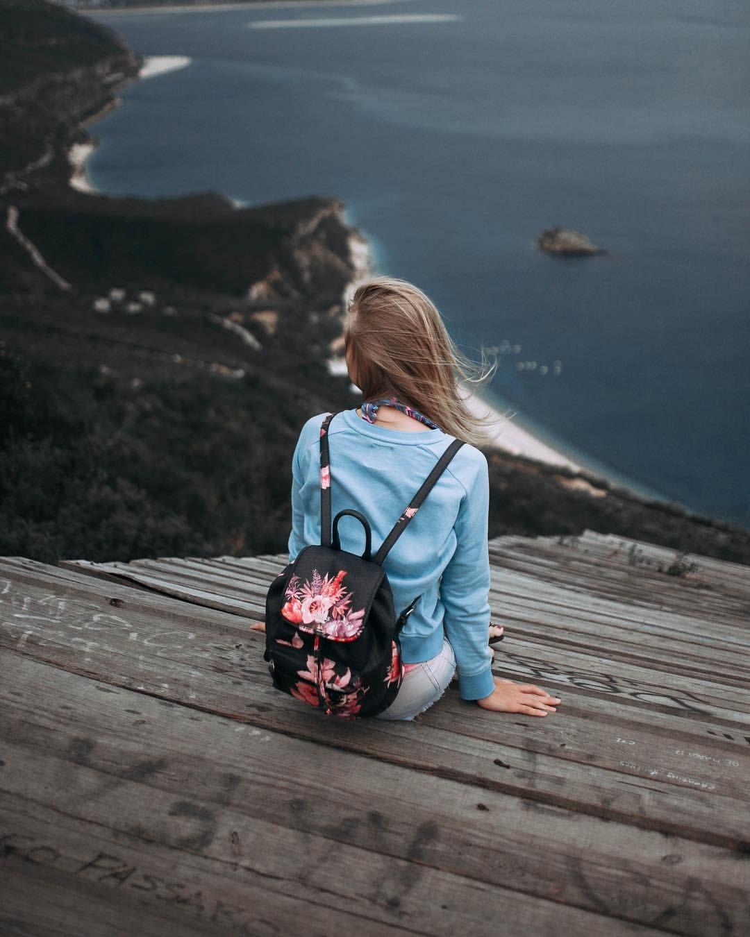 #Alone #Girl #Sad #Sea #Photography 😌