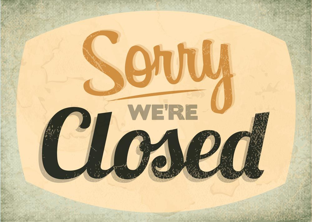 Sorry, our office is closed Feb 6, 2019, due to the weather