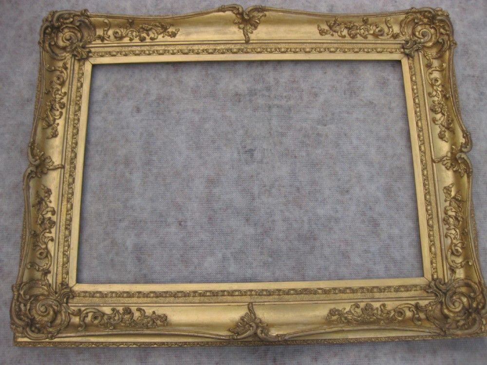 large antique gold mirror frame large antique framed