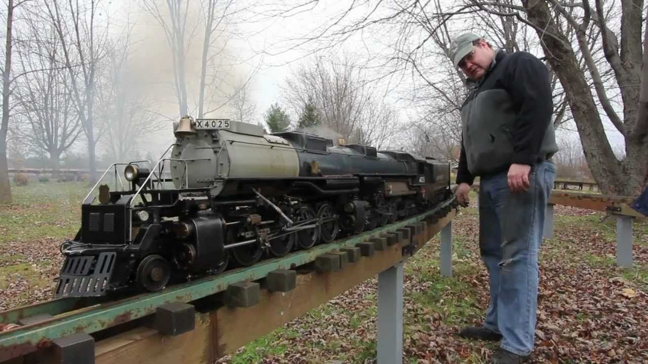 Big Boy's 1st Steam Trial - LIVE STEAM | Model Railroads