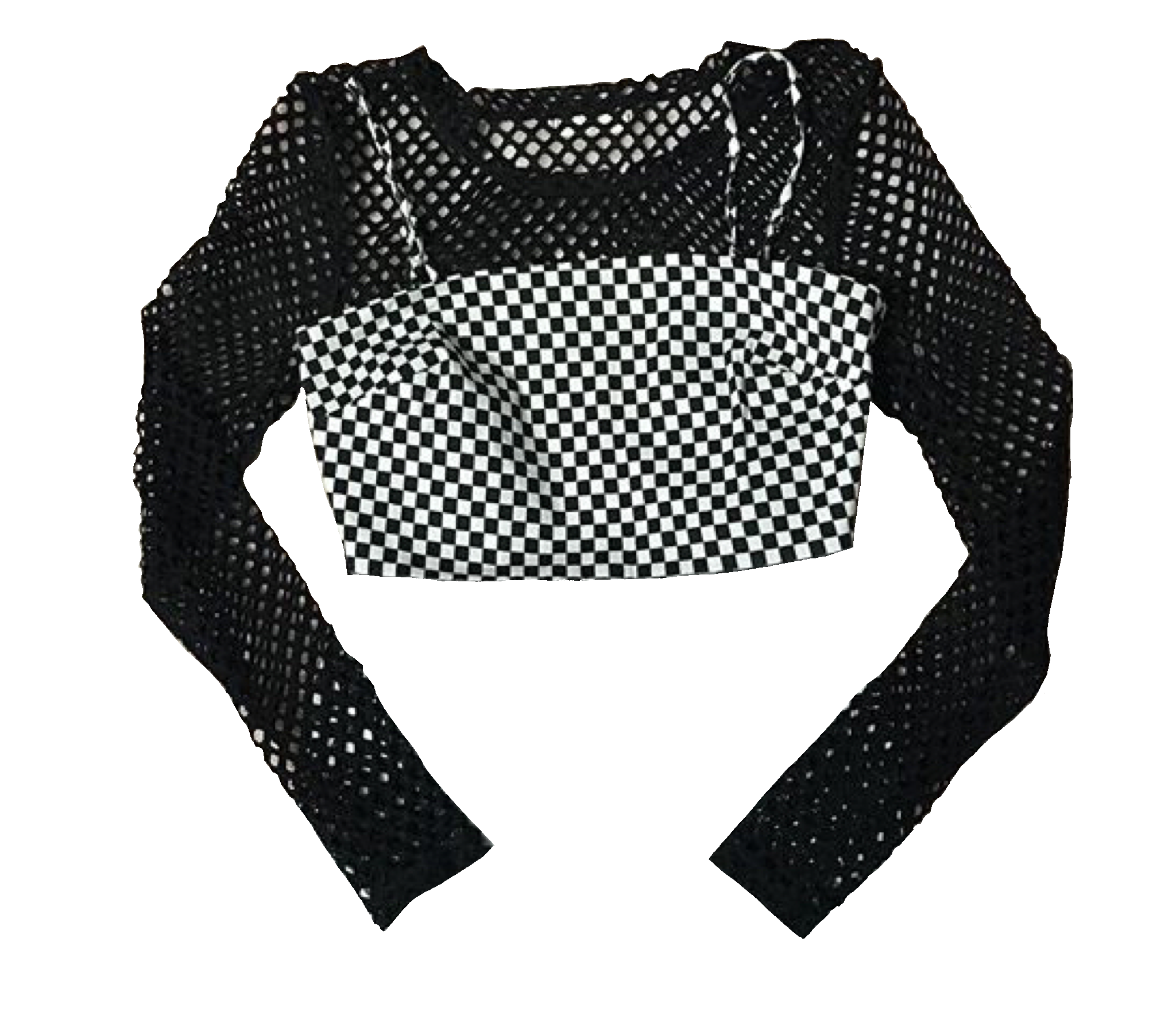 Aedpng They Make Moodboards Instagram Checkered Top W Fishnets Aedpng Moodboard Png Polyvore Fashion Outfits Clothes Fashion