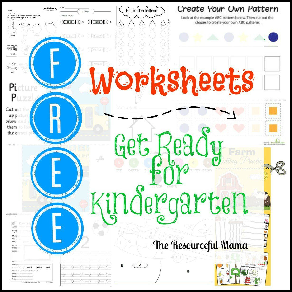 Ready for Kindergarten Bingo | Mela | Pinterest | Printable ...