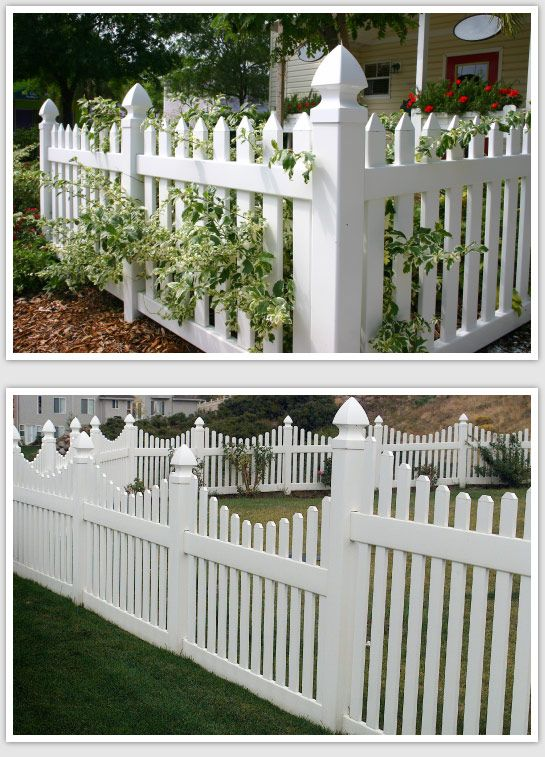 colorado vinyl picket fencing i would love a fence like this in front of my house bianca itti. Black Bedroom Furniture Sets. Home Design Ideas