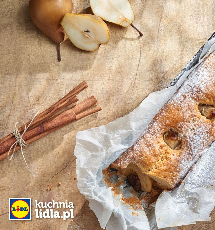 Ciasto Cynamonowe Z Gruszkami Kuchnia Lidla Lidl Polska Lidl