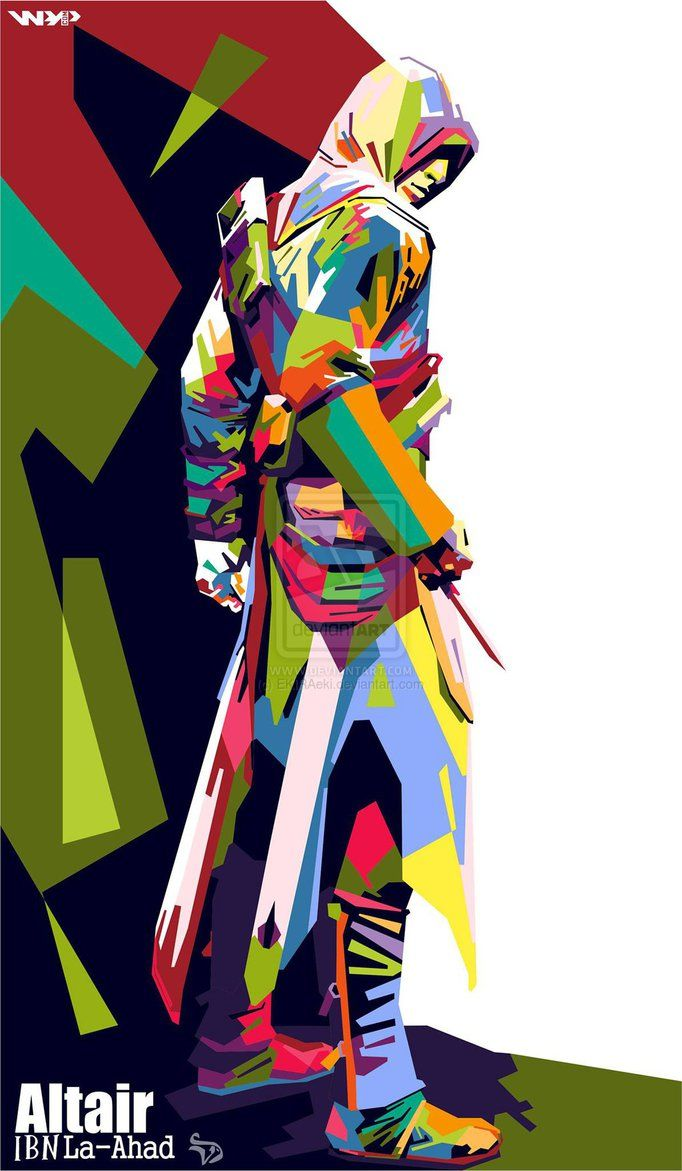 WPAP Altair Ibn'La-Ahad Assassins Creed