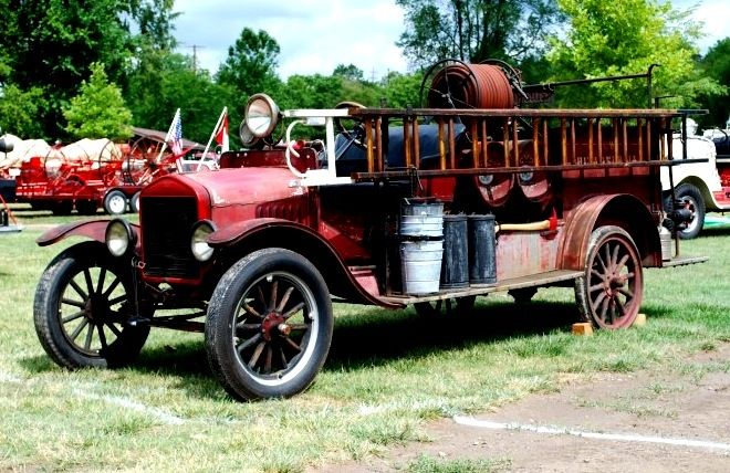 1919 Prospect / Model T Ford fire engine...
