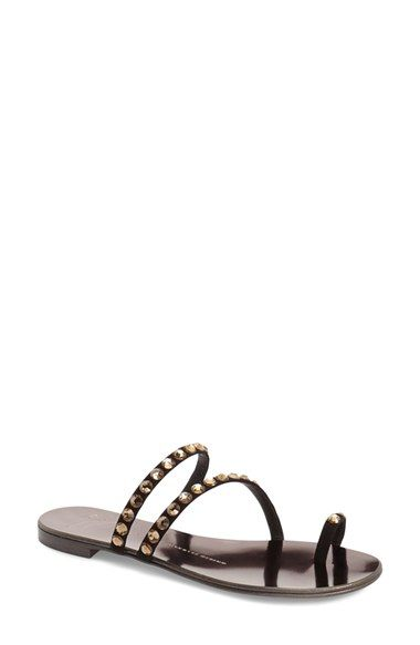 Nuvorock Embellished Suede SandalsGiuseppe Zanotti Grv0gbs