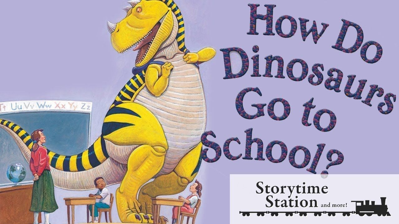How do dinosaurs go to school by jane yolen books for