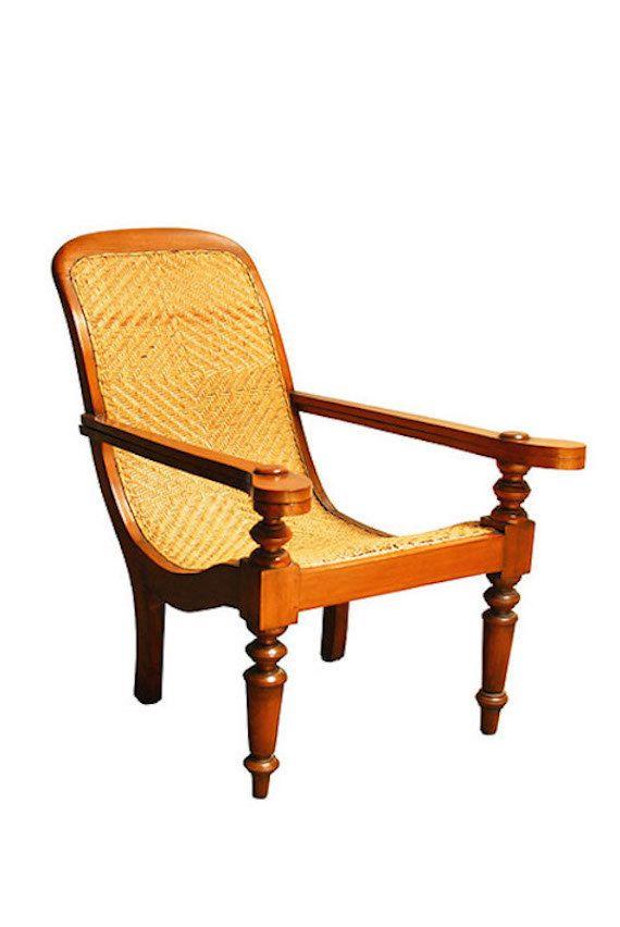 British Colonial Java Plantation Chair By ErinLaneEstate On Etsy  #plantationchair #plantationlounger #javaloungechair #