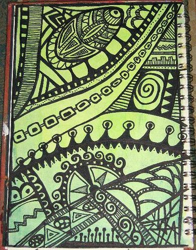 Great blog full of ideas for doodling and art journals.