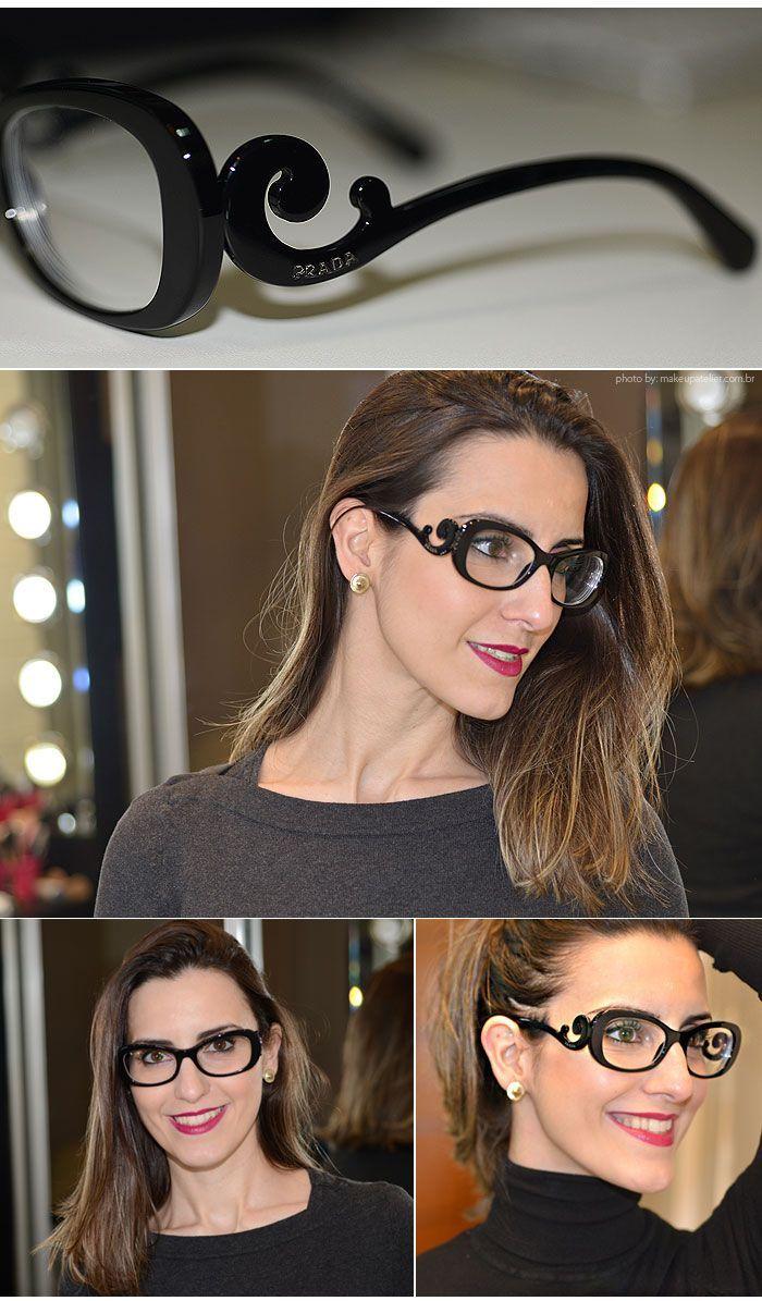 2afe1960b Armação moderna e sofisticada: Prada Baroque ♥ #oticaswanny #prada  #original Oculos De